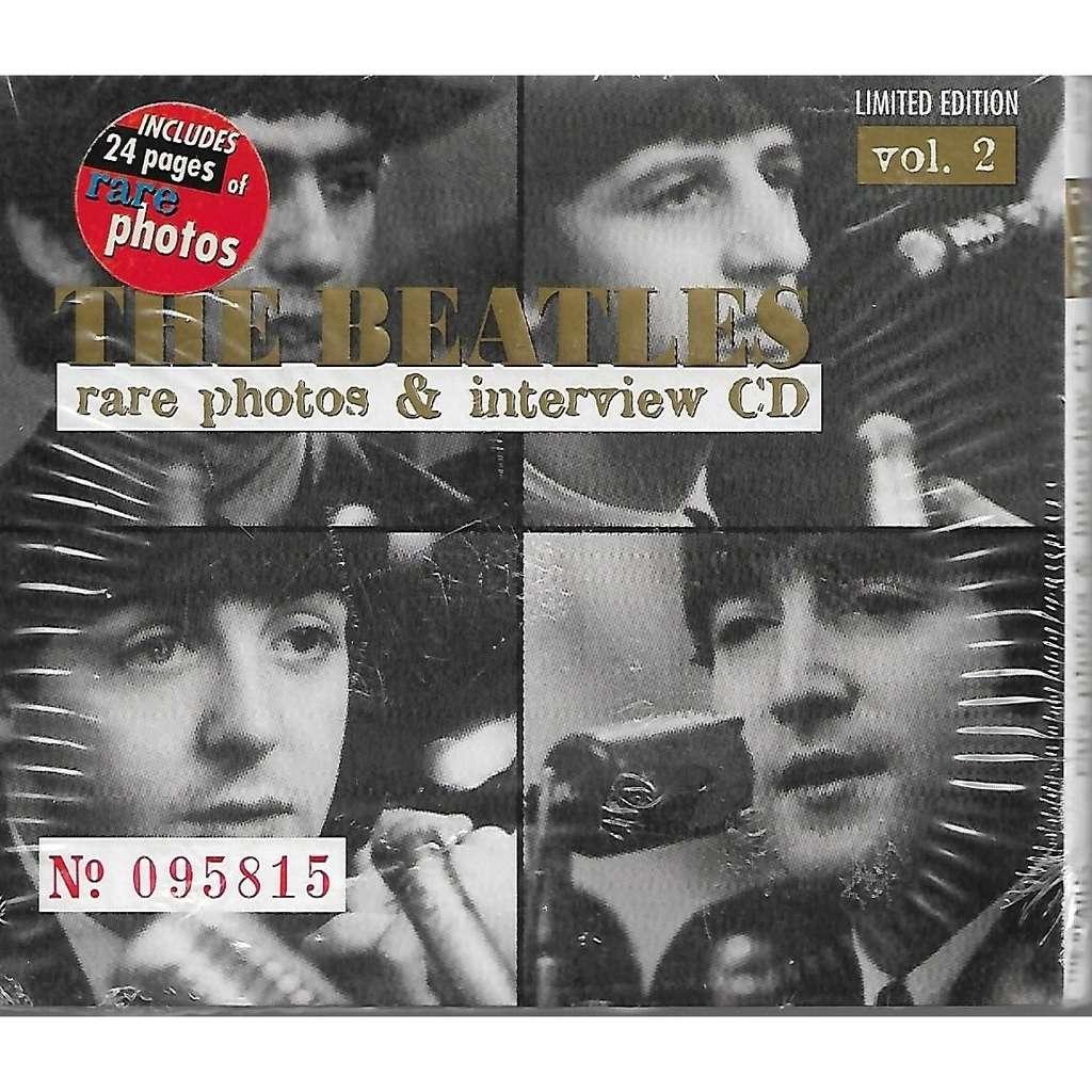 The Beatles Rare Photos & Interview CD (Vol. 2)