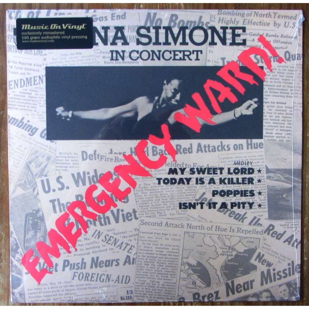 NINA SIMONE EMERGENCY WARD (music on vinyl)