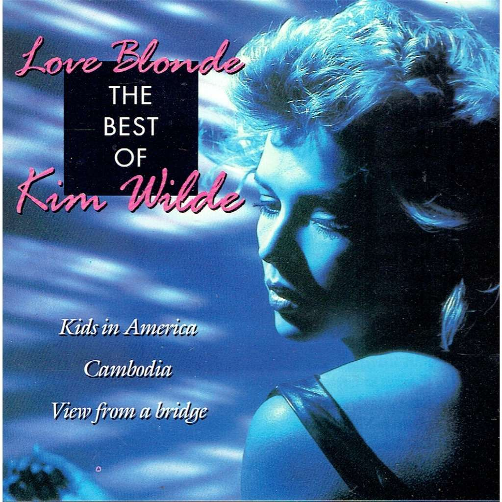 kim wilde Love blonde - The best of