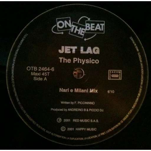 JET LAG The Physico