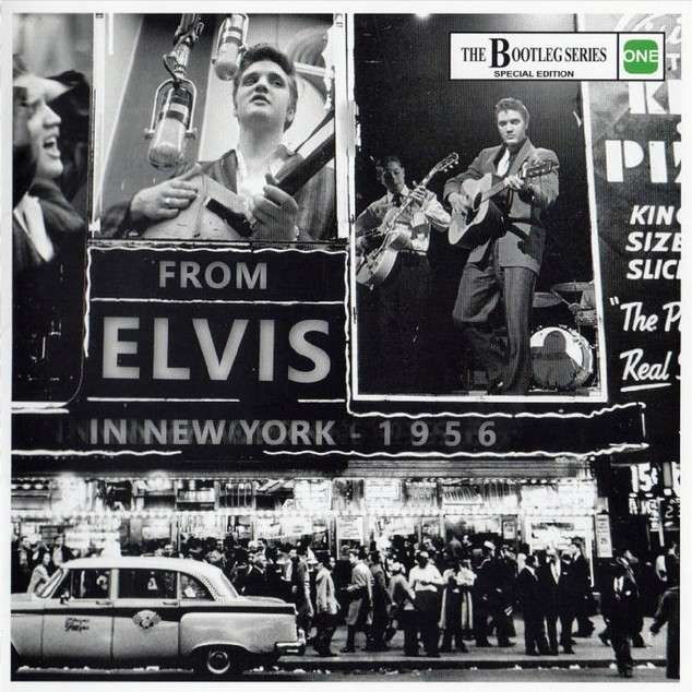 elvis presley 001 cd from elvis in new york 1956 cd 21 outtakes, live & rarities from 1956
