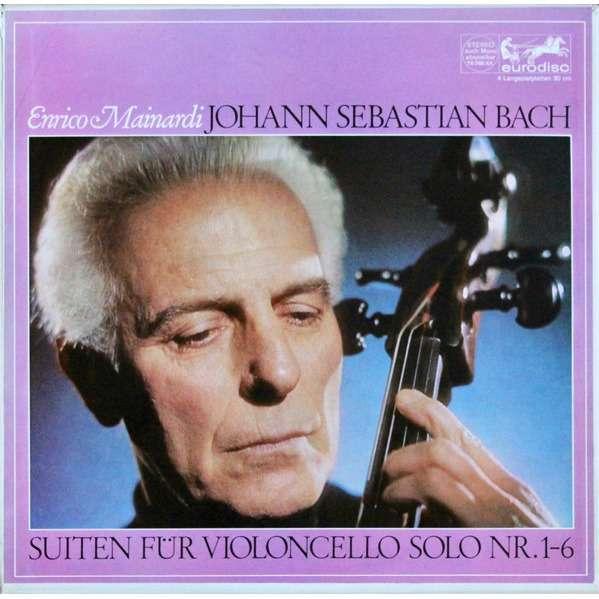 enrico mainardi bach: solo cello suites
