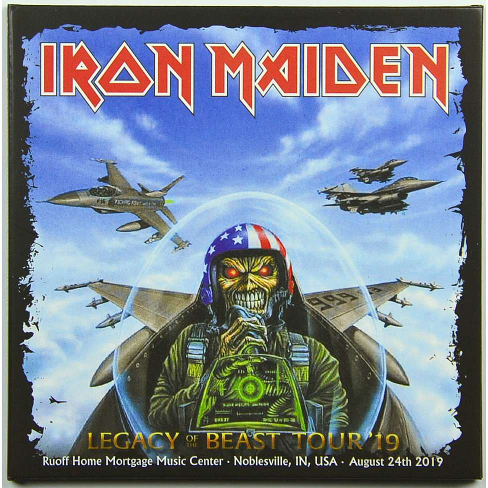 IRON MAIDEN Live In Noblesville USA 24 August 2019 Legacy Of The Beast Tour Bonus 1984 2CD Digipack