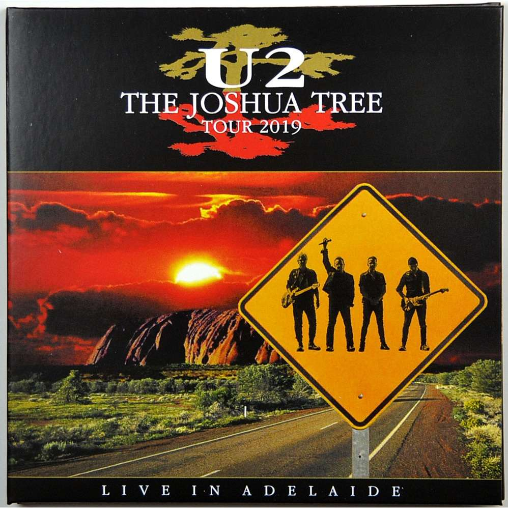 U2 Live In Adelaide Australia 2019 The Joshua Tree Tour 2CD