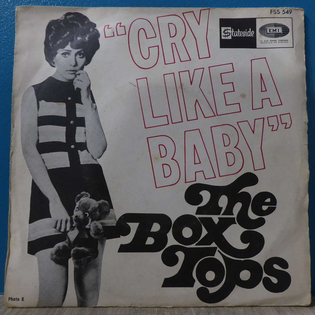 box tops Cry like a baby + The door you closed to me