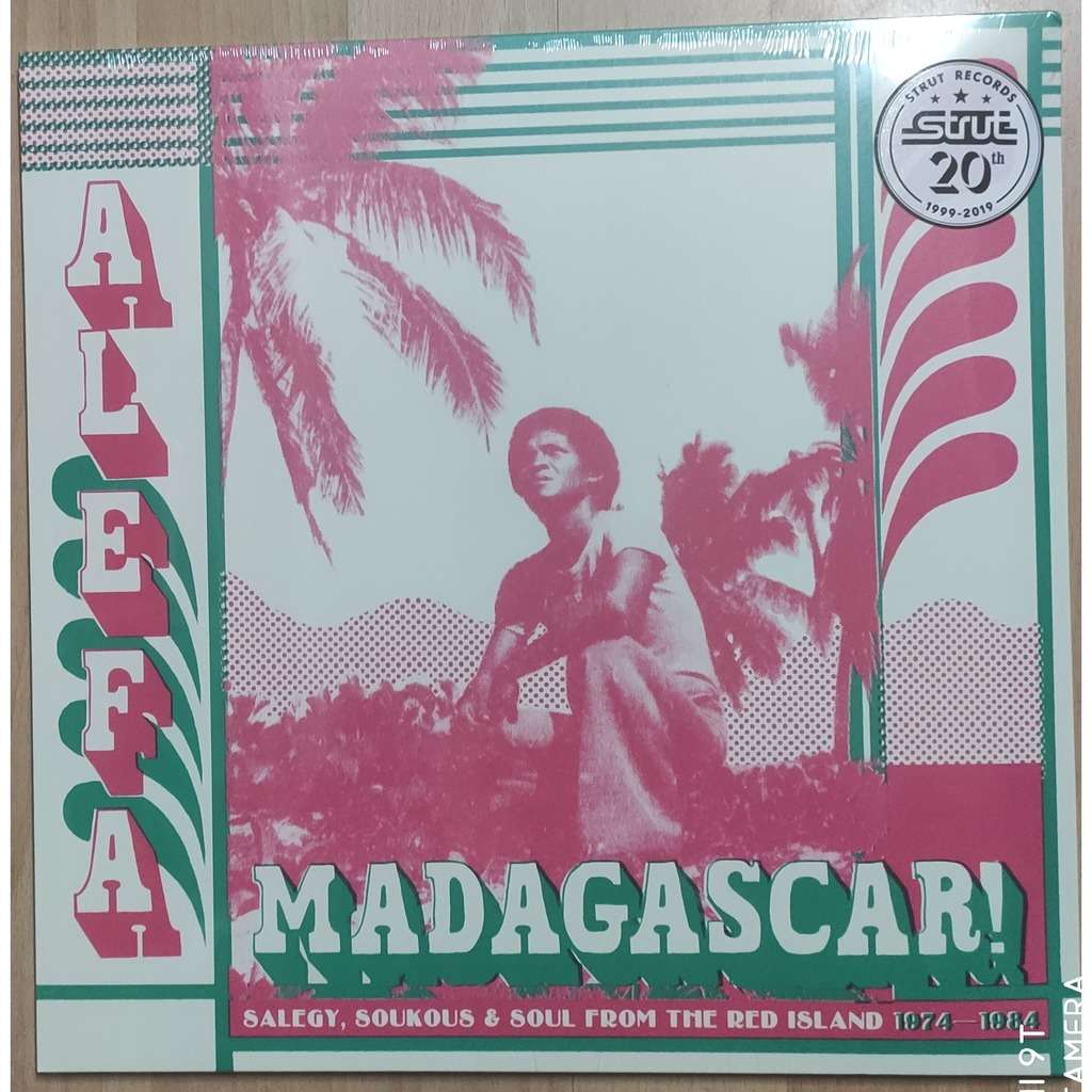 Alefa Madagascar ! (various) Salegy, Soukous & Soul from the red island 1974-1984