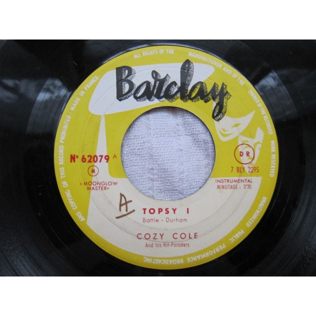 Cozy Cole And His Hit-Paraders Topsy