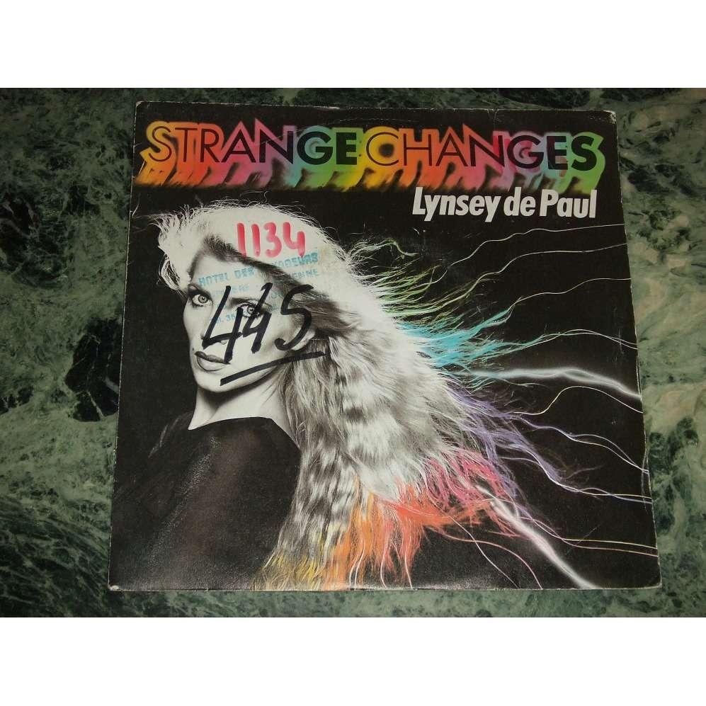 Lynsey De Paul Strange Changes