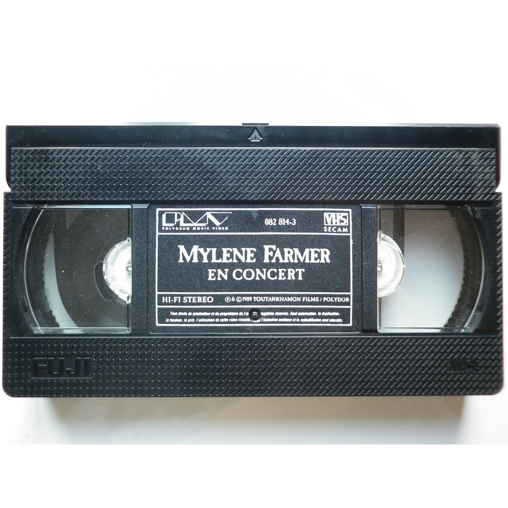 Mylene Farmer En Concert Le Film éditeur PMV