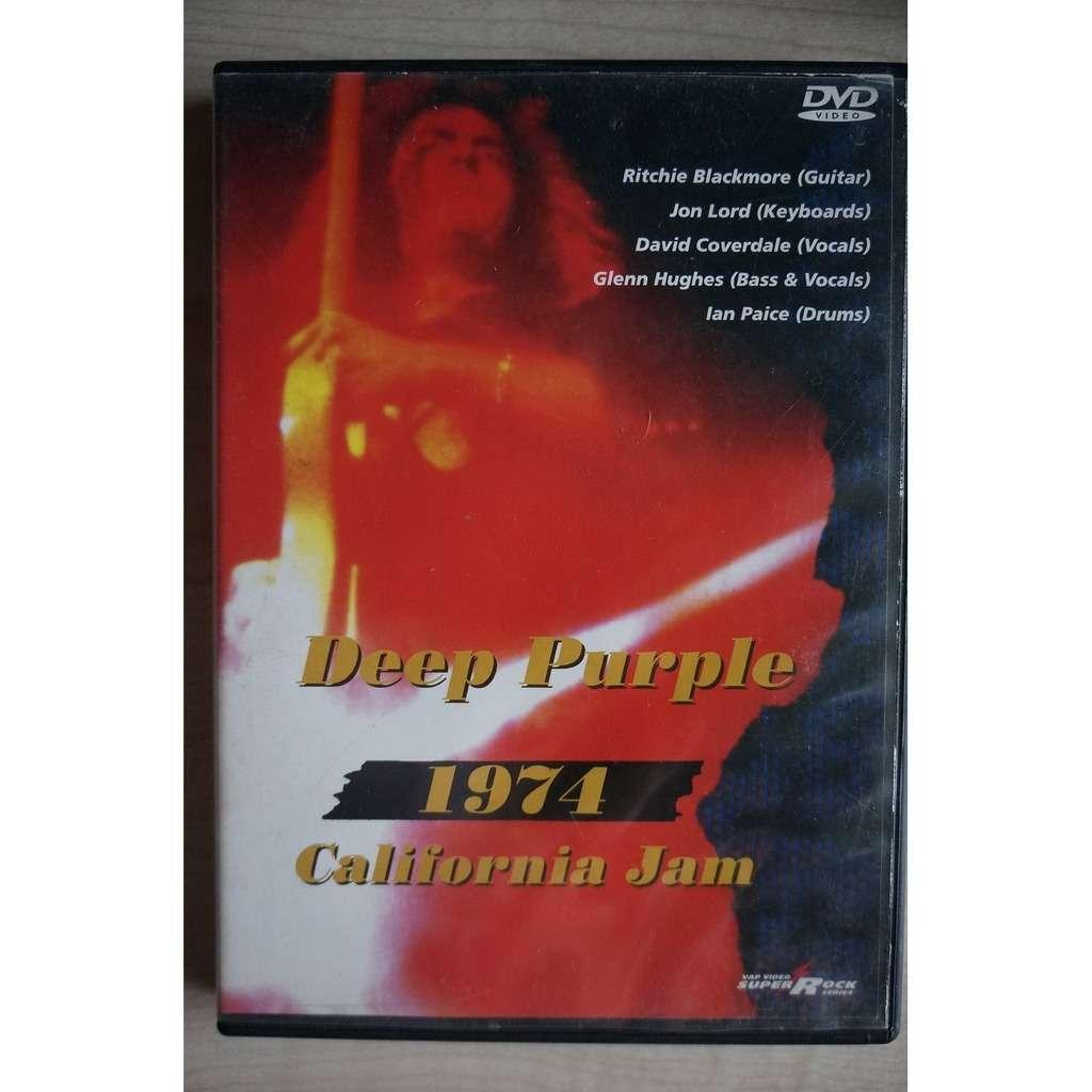deep purple 1974 - California Jam