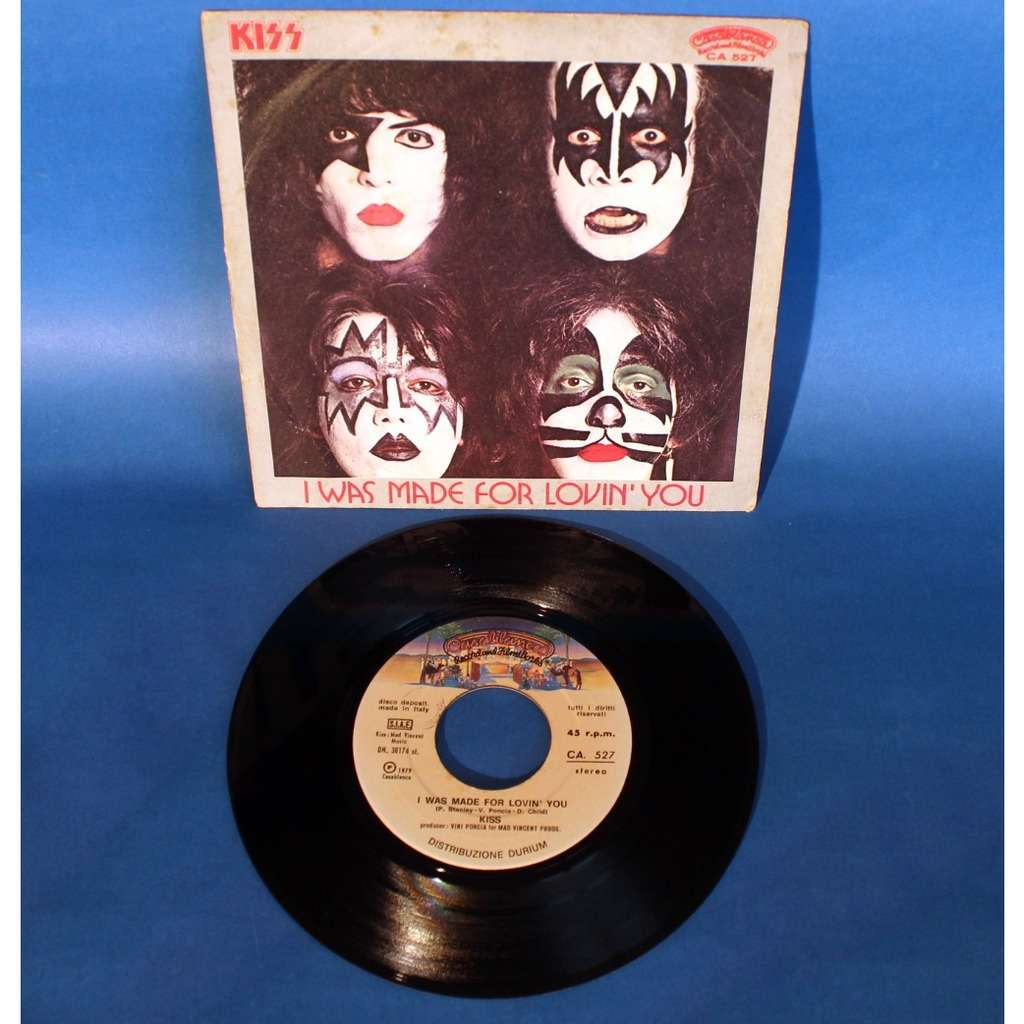 Kiss I Was Made For Lovin' You