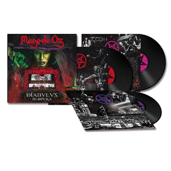 Mägo De Oz Diabulus In Opera (3xlp + 2xcd + dvd) Ltd Edit -Spain