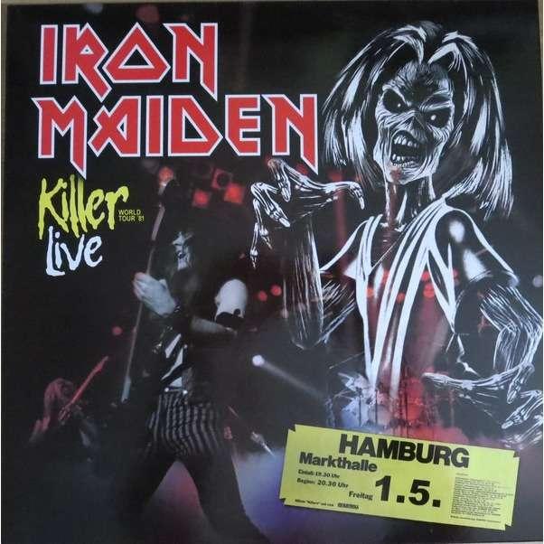 IRON MAIDEN Live Hamburg Markthalle 1981