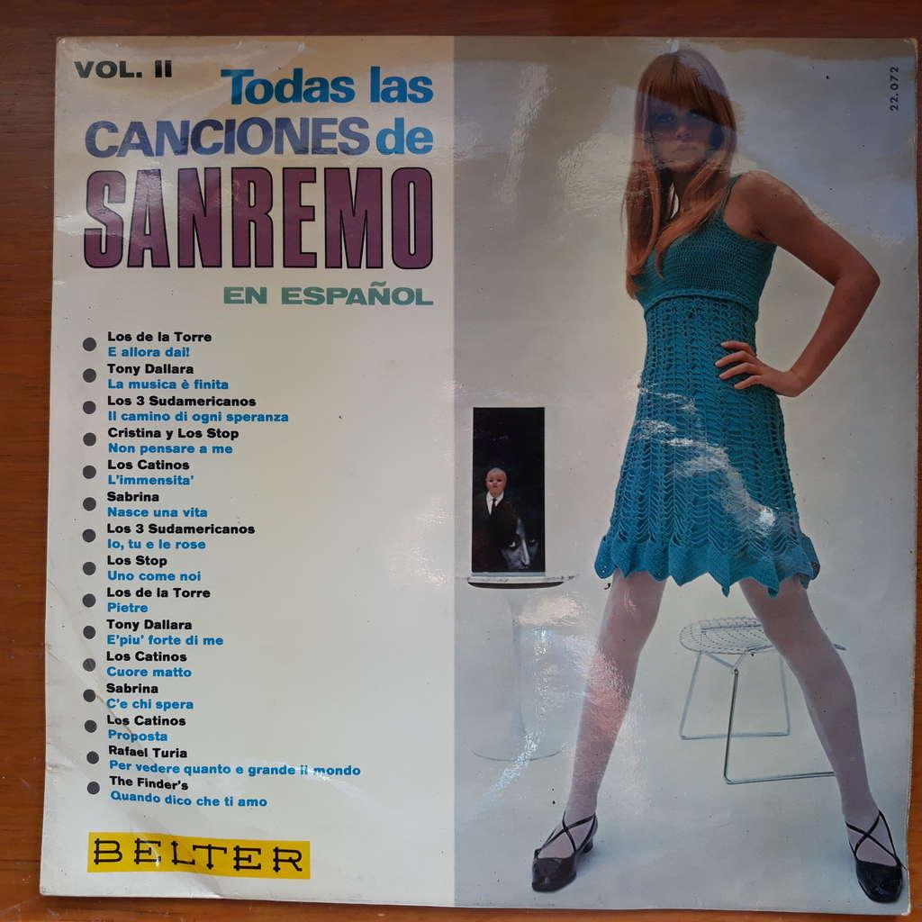 various Todas Las Canciones De Sanremo En Español Vol. II