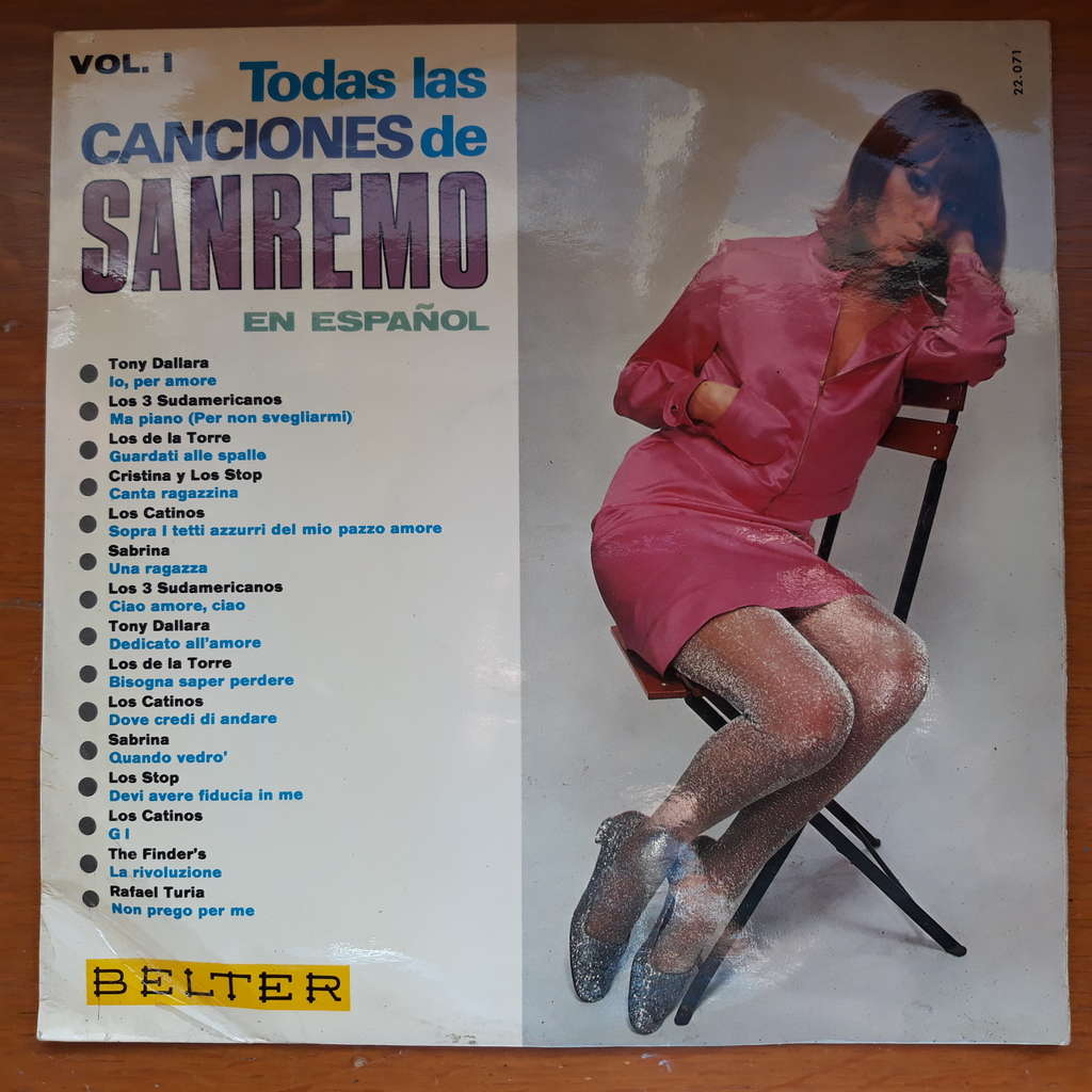 various Todas Las Canciones De Sanremo En Español Vol. I