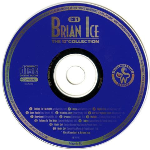 Brian Ice The 12 Inches Collection