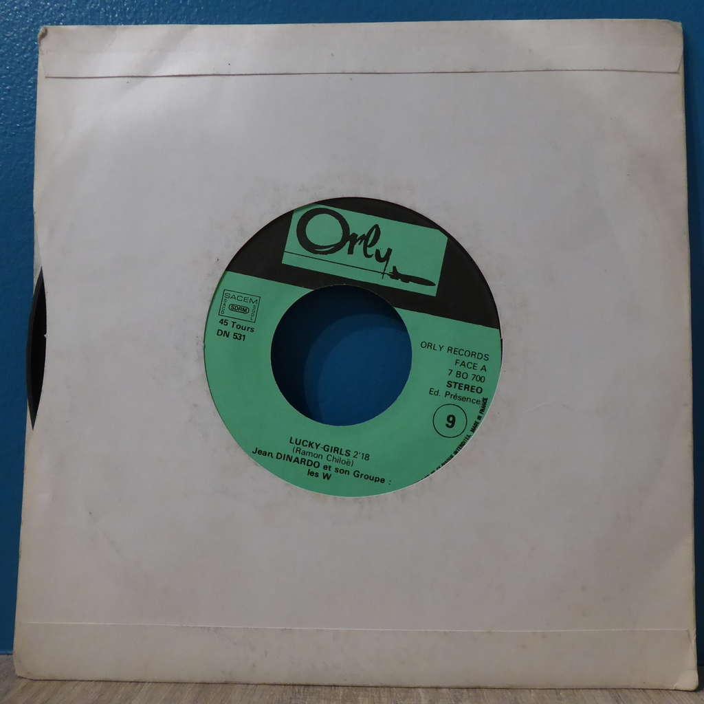 Jean Dinardo Lucky-girls + New-times rock
