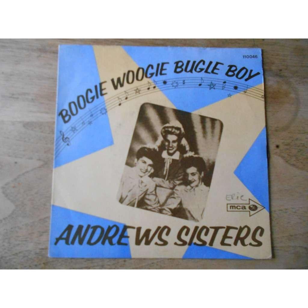 andrews sisters boogie woogie bugle boy - rum and coca-cola
