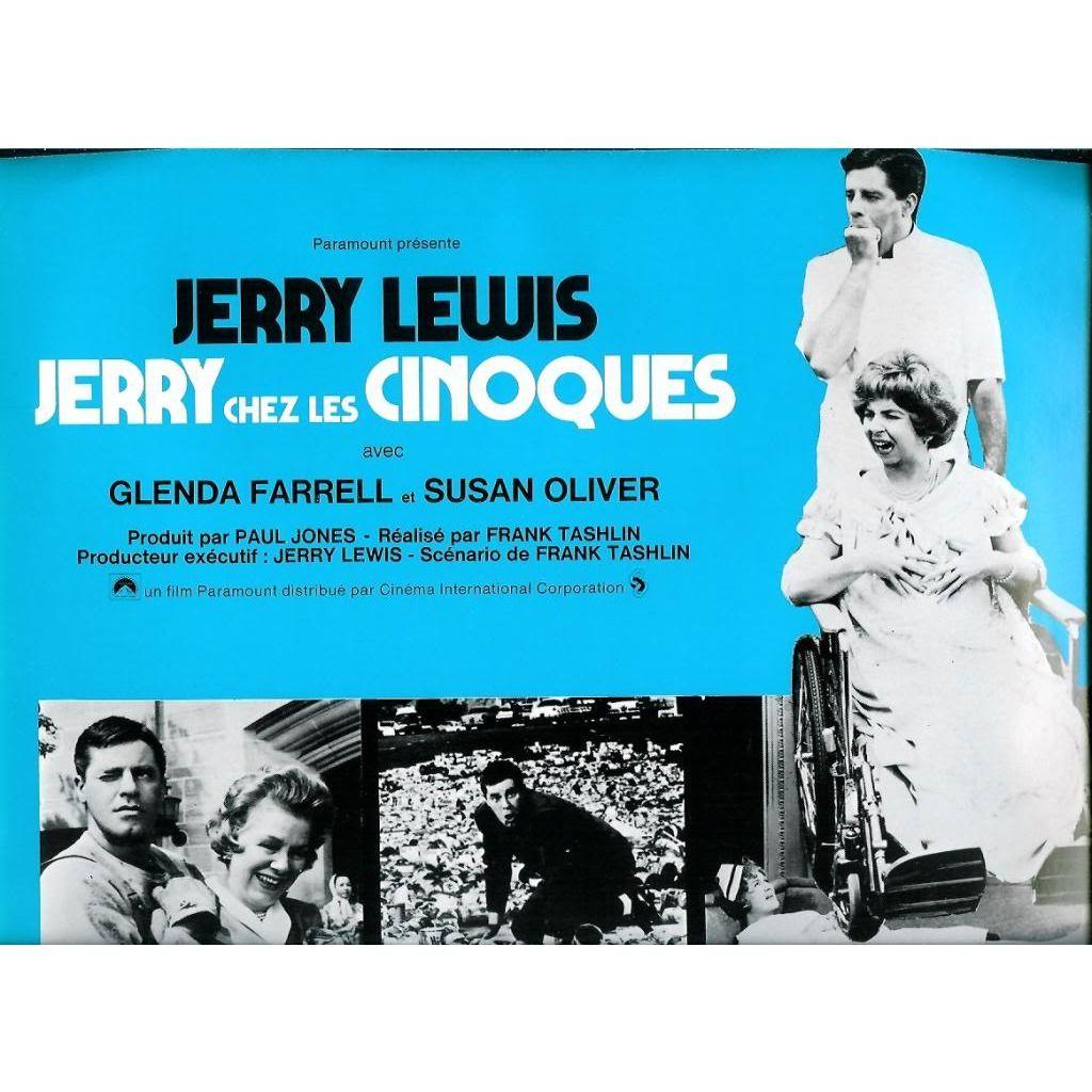 jerry lewis Jerry chez les cinoques