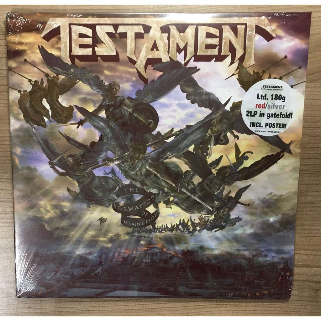 testament The Formation Of Damnation, new & sealed