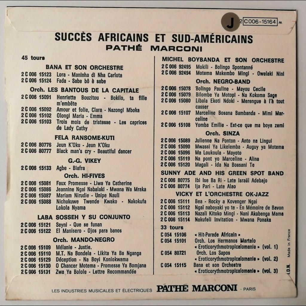 Orchestre Sinza il est né... (afro)