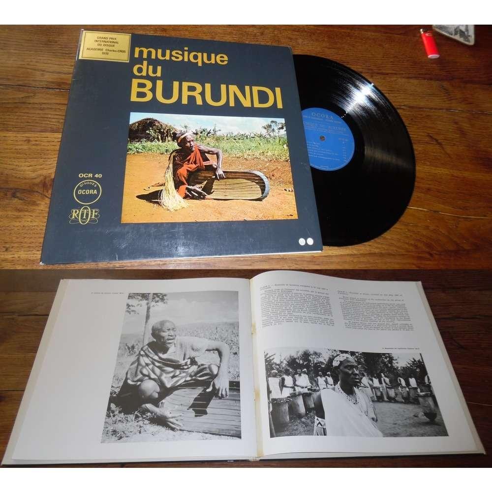Various Musique Du Burundi (With Booklet)