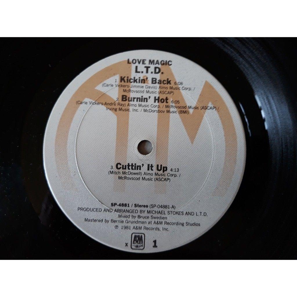 L.T.D. - Love Magic (LP, Album) 1981 L.T.D. - Love Magic (LP, Album) 1981