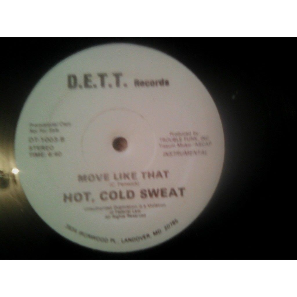 Hot, Cold Sweat Move Like That (12, Promo)