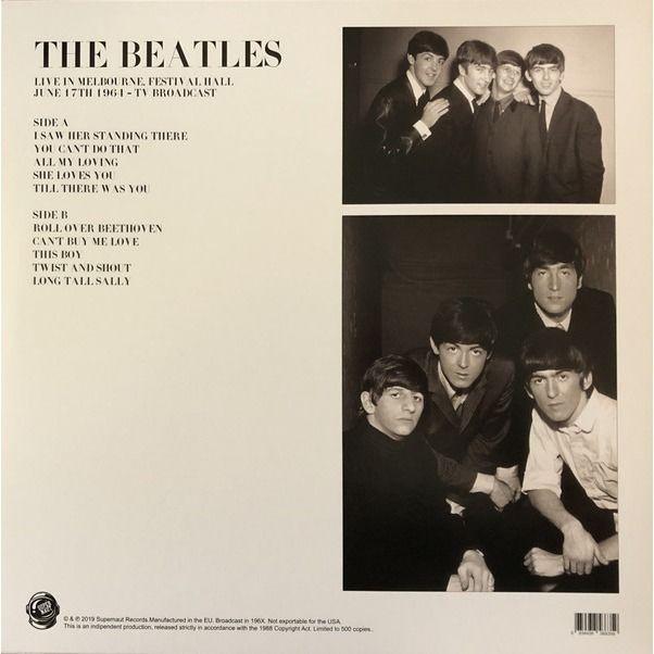 Beatles Live In Melbourne, Festival Hall June 17th 1964 - TV Broadcast