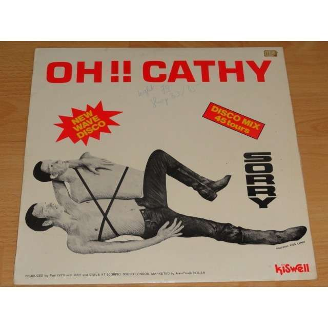 sorry oh cathy