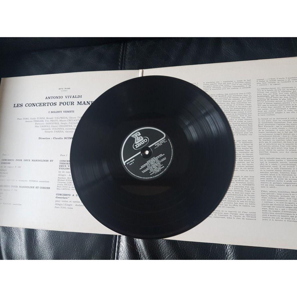 antonio vivaldi /venetti/ c.scimone concertos pour mandolines