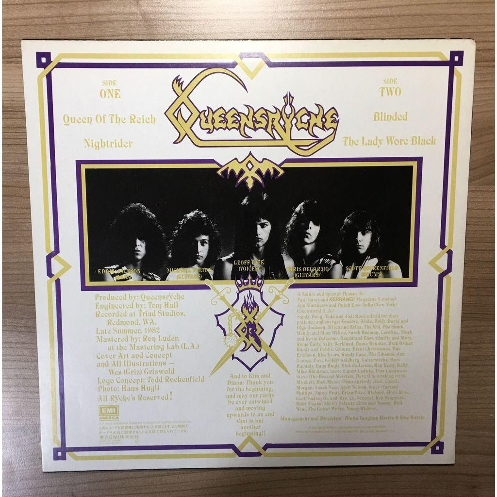 Queensrÿche クイーンズライチ* , Mini-Album