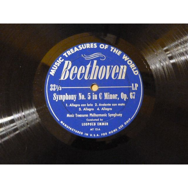 Beethoven,Schubert / Leopold Emmer , Austrian Phi Symphony No. 5 In C Minor, Op. 67 / Symphony No. 8 In B Minor, The 'Unfinished'