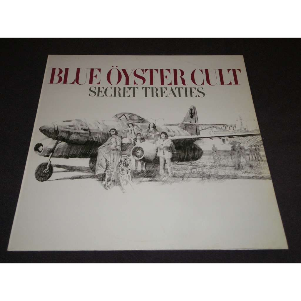blue öyster cult Secret Treaties