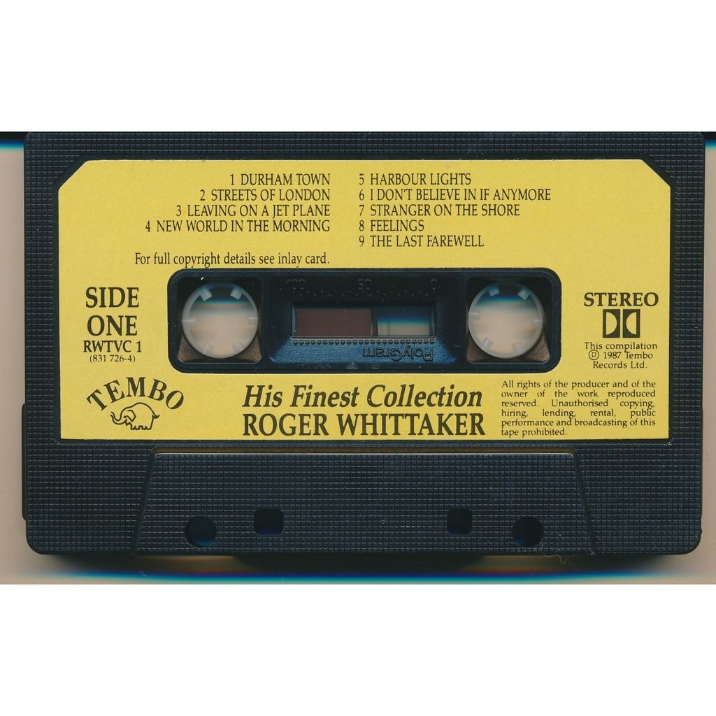 Roger Whittaker His Finest Collection