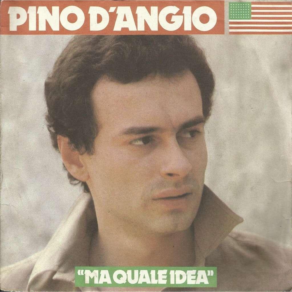 Pino D'ANGIO ma quale idea / lezione d'amore