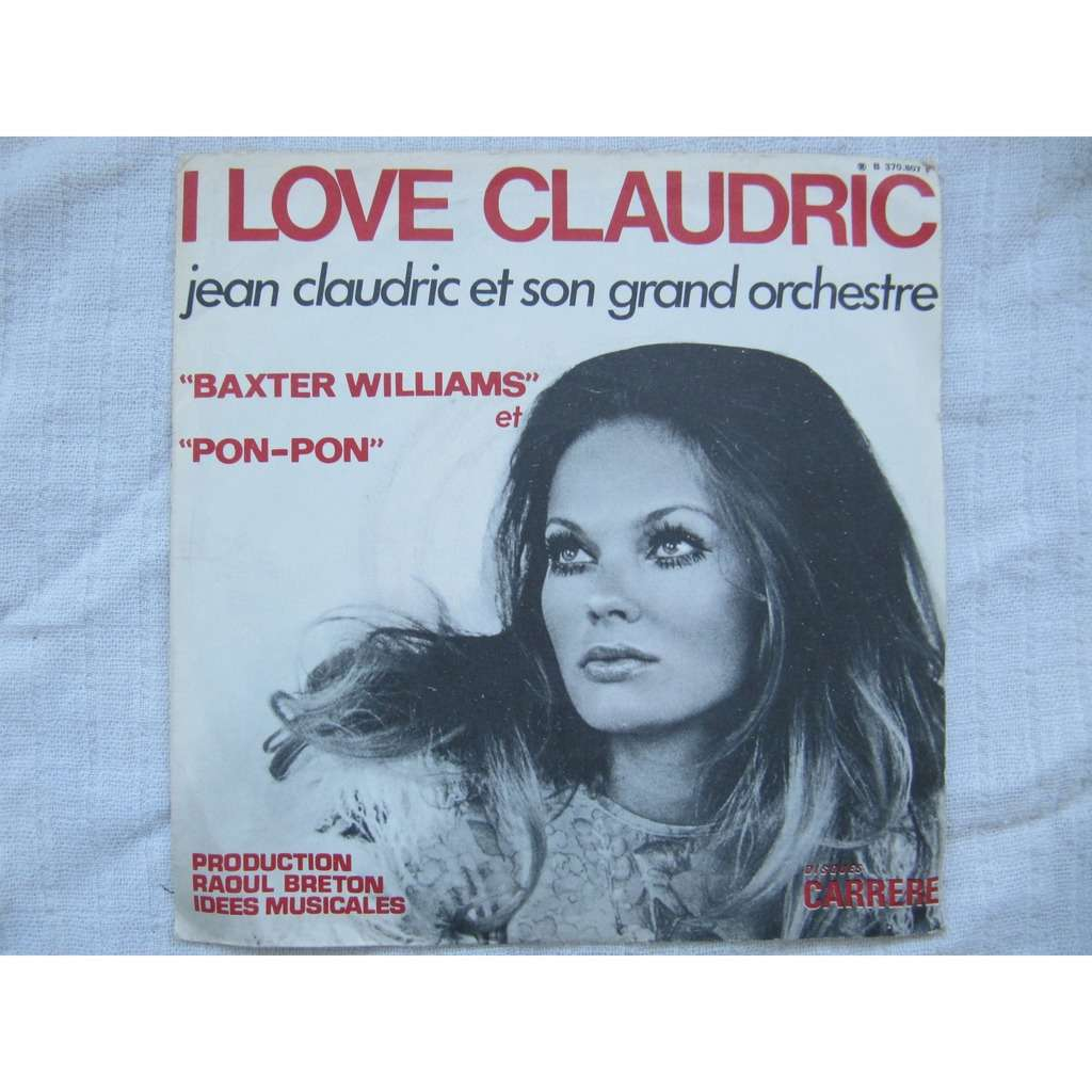 Jean Claudric Pon-Pon / Baxter Williams I Love Claudric