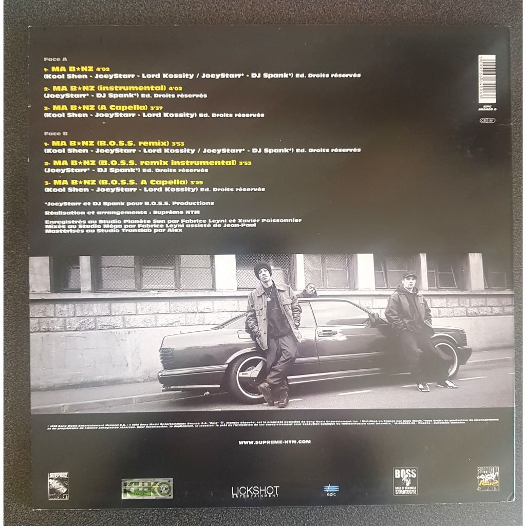 NTM Feat.LORD KOSSITY MA BENZ