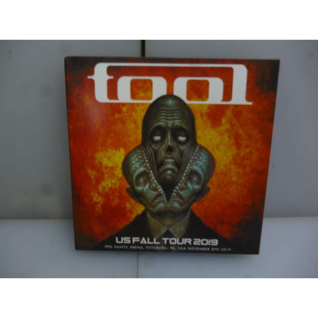 Tool US Fall Tour 2019. Live In Pittsburg. PPG Paints Arena, Pittsburg, PA,USA 2019. EU 2019 2CD Digipack