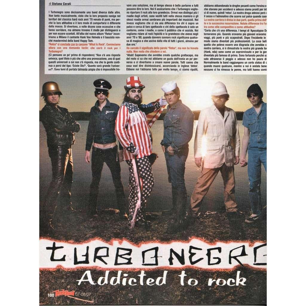 Turbonegro Rock Hard (N.57 July/Aug. 2007) (Italian 2007 music magazine!!)