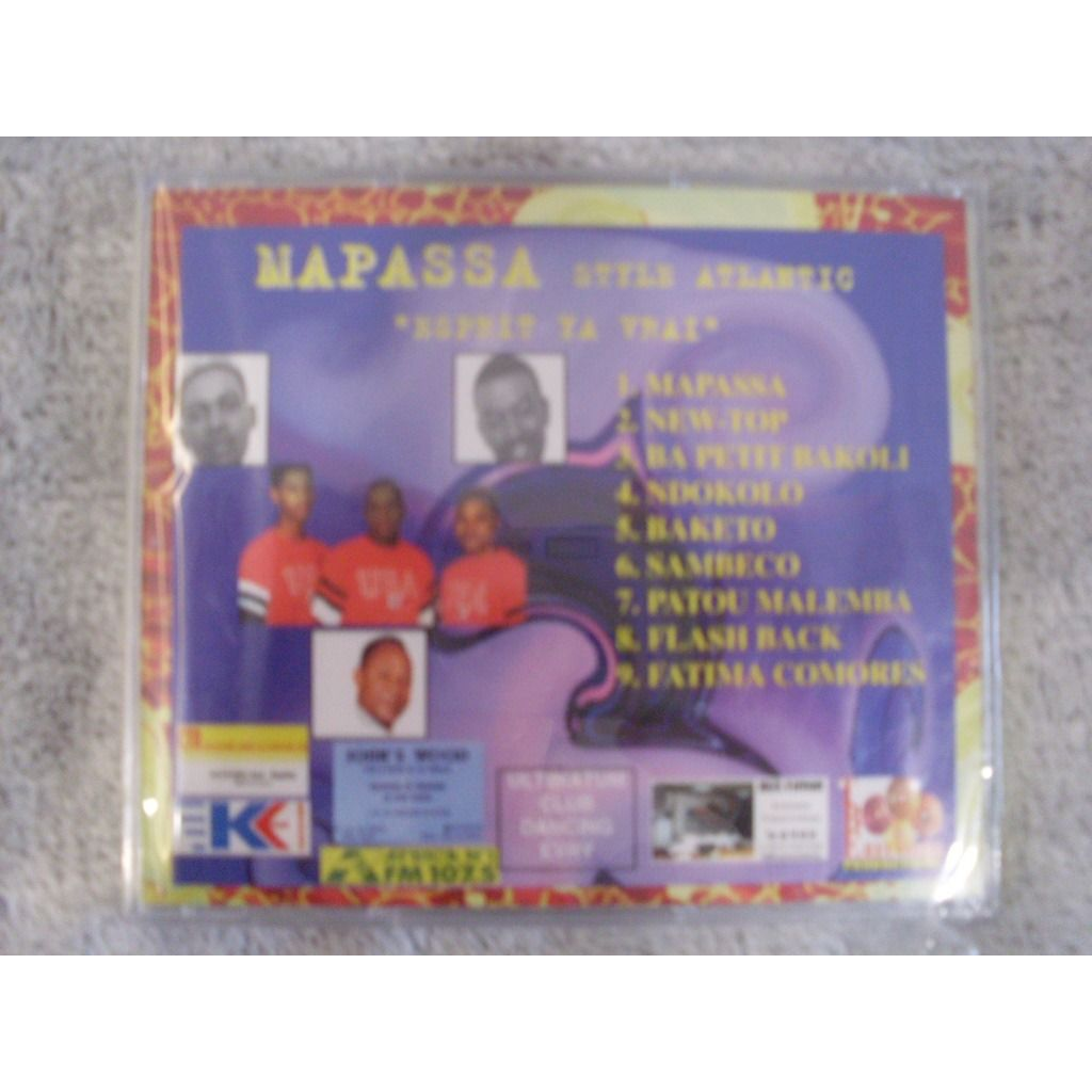 jo mike et son groupe Mapassa S.A Esprit Ya Vrai New-Top