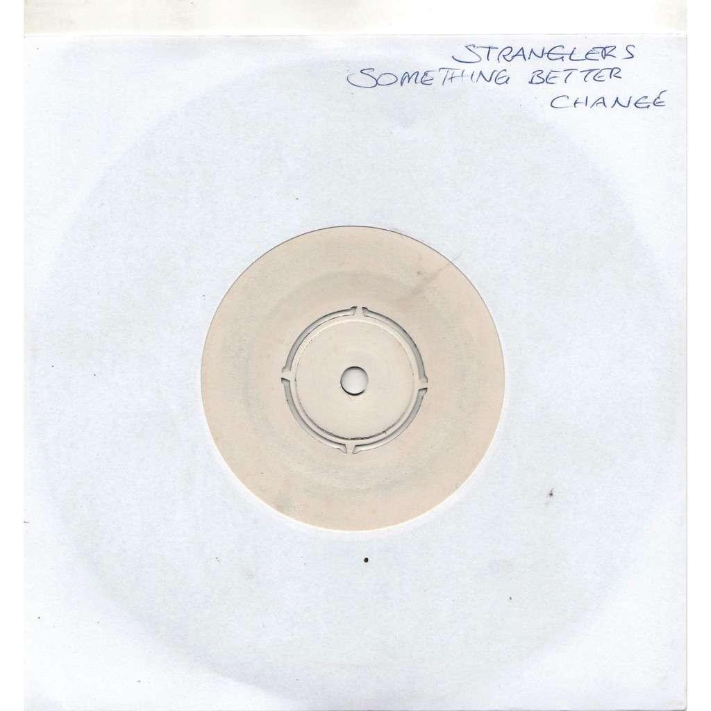 Stranglers Something Better Change (UK 1977 original 2-trk w/label 7single TEST PRESSING hand-written slv!)