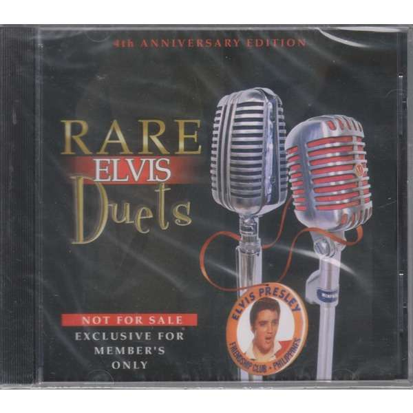 elvis presley 001 cd rare elvis duets 19 unreleased duets