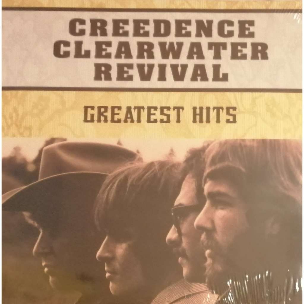 CREEDENCE CLEARWATER REVIVAL Greatest Hits - Compilation - Vinyl Neuf - Sous Emballage