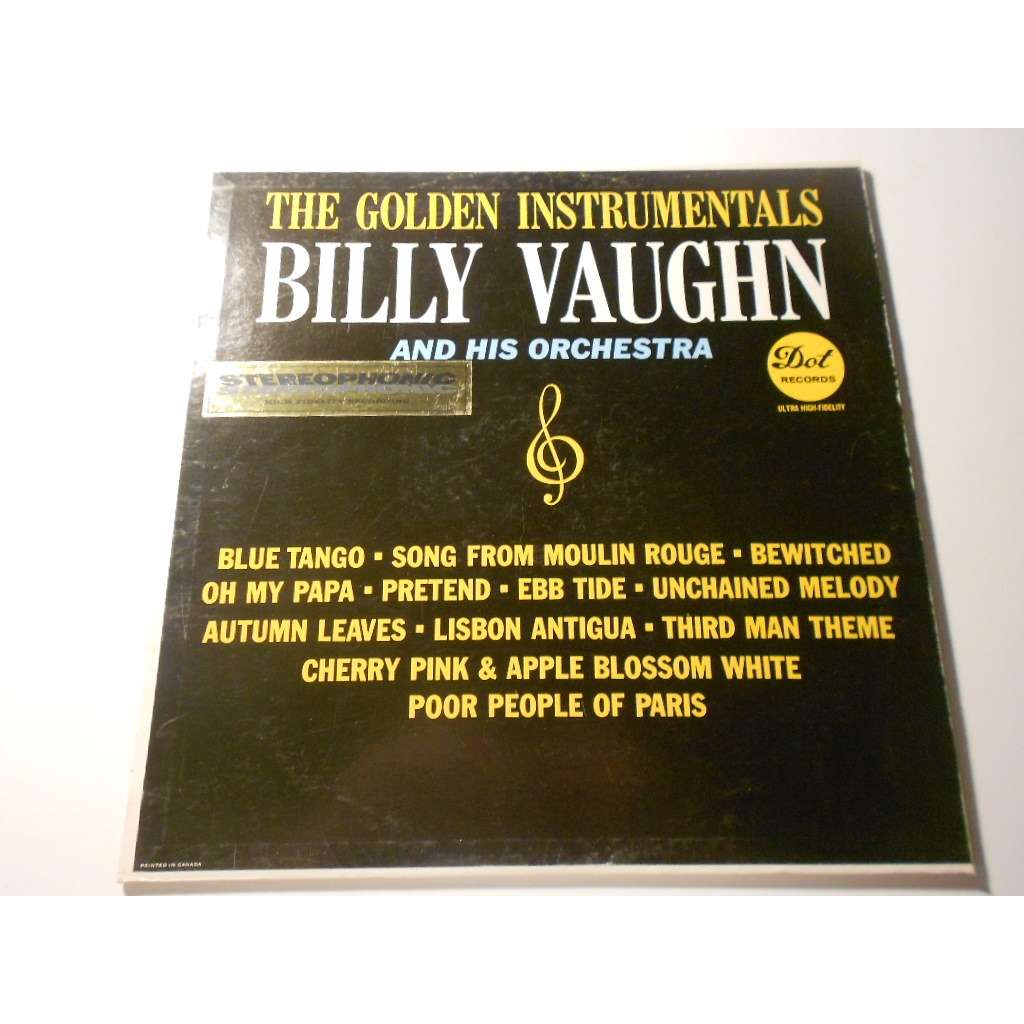 billy vaughn and his orchestra the golden instruments