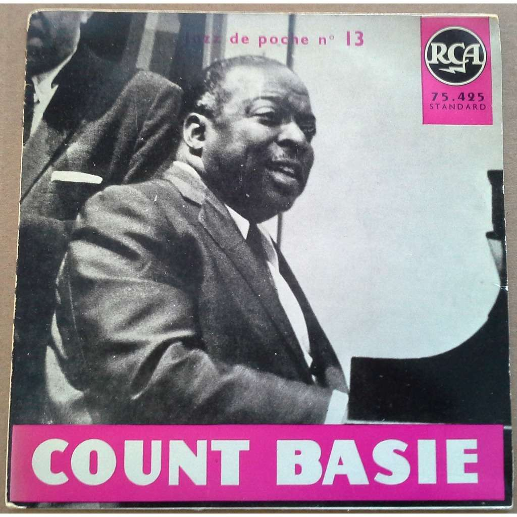 COUNT BASIE Blue and sentimental - EP 4 Titres