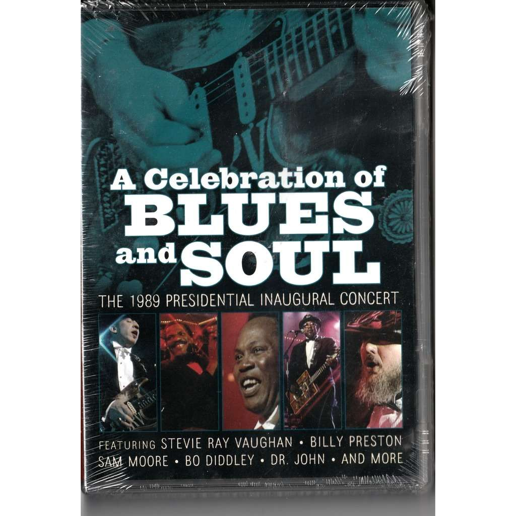 a celebration of the blues the 1989 presidential inaugural concert