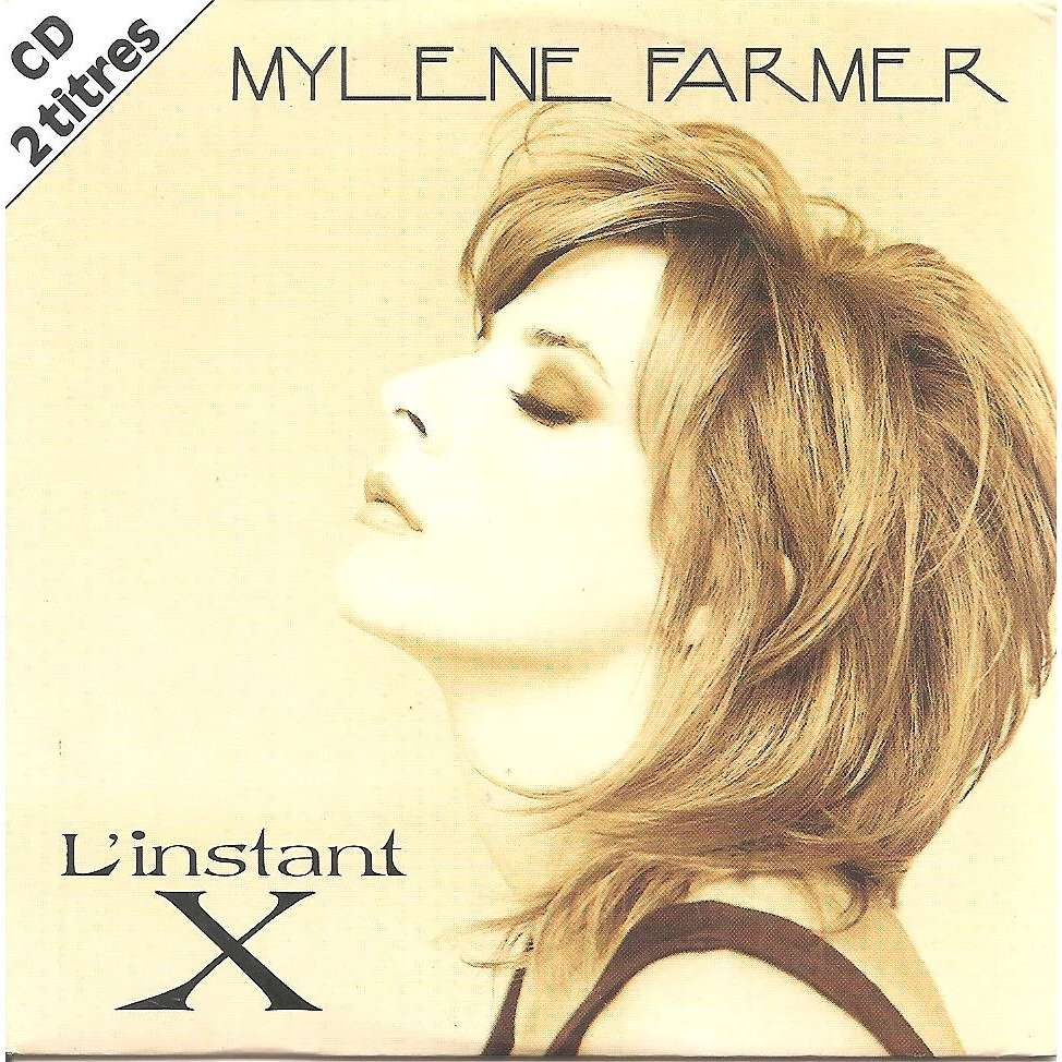 FARMER MYLENE l'instant X / alice