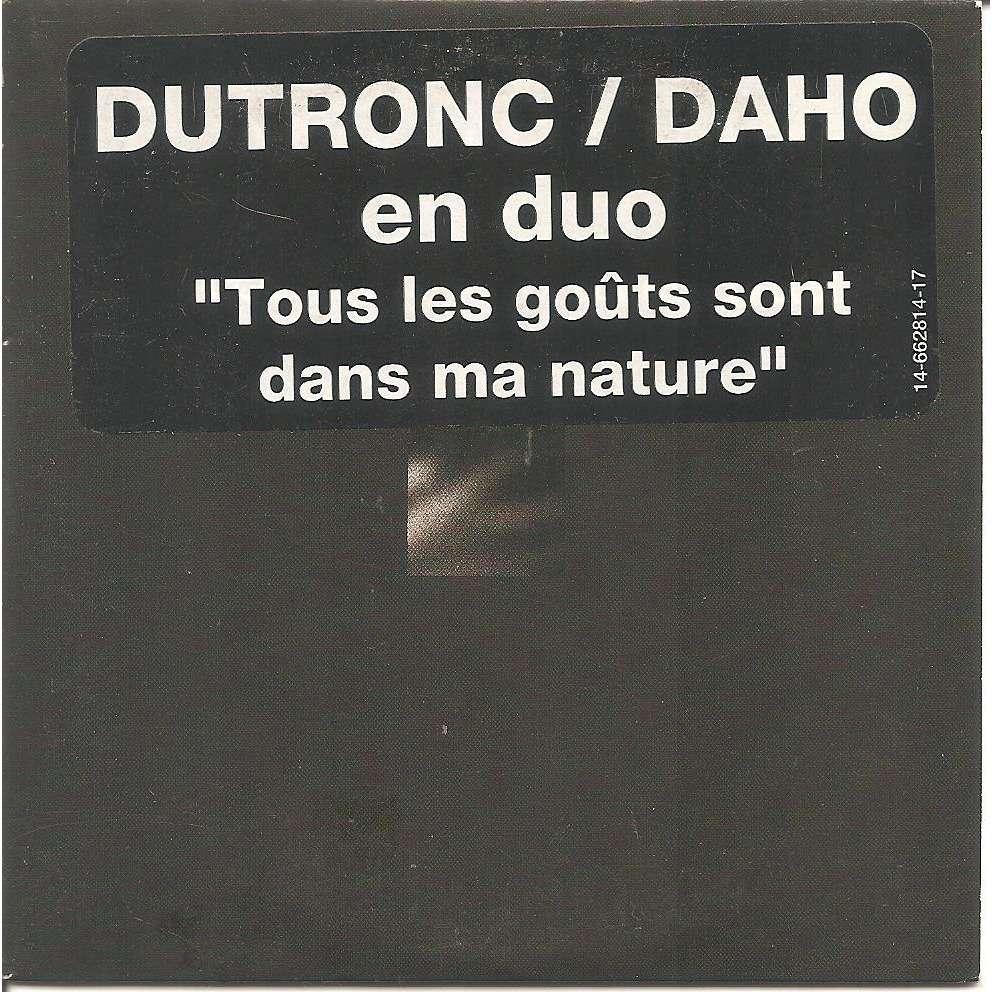 Jacques Dutronc - Etienne Daho Tous les gouts sont dans ma nature / Laisse Lucie faire