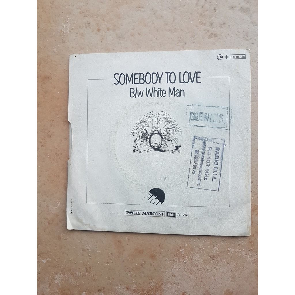 queen somebody to love/ white man